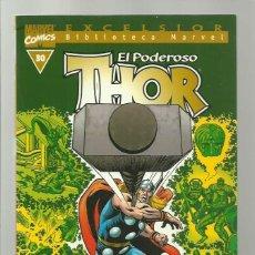 Cómics: BIBLIOTECA MARVEL: THOR 30, 2003, FORUM, MUY BUEN ESTADO. Lote 286614208