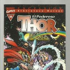 Cómics: BIBLIOTECA MARVEL: THOR 33, 2004, FORUM, MUY BUEN ESTADO. Lote 286614313