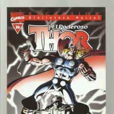 Cómics: BIBLIOTECA MARVEL: THOR 36, 2004, FORUM, MUY BUEN ESTADO. Lote 286614848