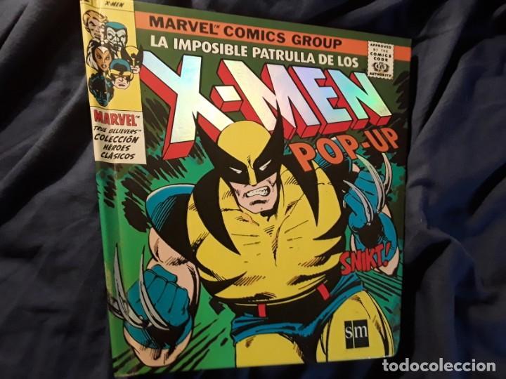 LA IMPOSIBLE PATRULLA X-MEN POP UP (TRIDIMENSIONAL). EXCELENTE ESTADO (MARVEL) (Tebeos y Comics - Forum - X-Men)