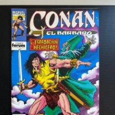 Cómics: CONAN EL BÁRBARO 195 - FORUM. Lote 286792218