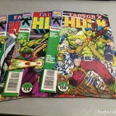 Cómics: FACTOR X Y HULK / SERIE LIMITADA - COMPLETA 3 NÚMEROS / MARVEL - FORUM. Lote 286864648
