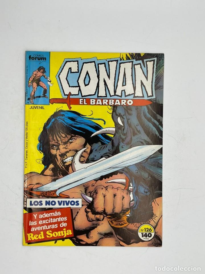 Cómics: CONAN EL BARBARO - MARVEL - JUVENIL- NUMEROS 126-127-128-129-130 - Foto 2 - 286943318