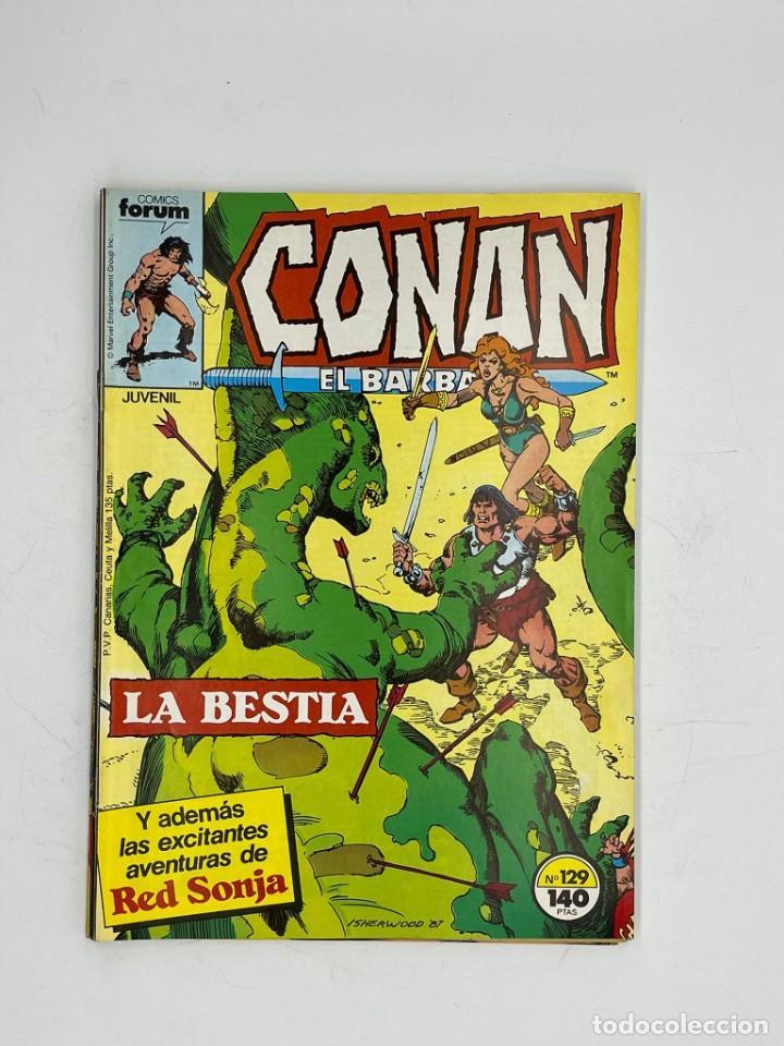 Cómics: CONAN EL BARBARO - MARVEL - JUVENIL- NUMEROS 126-127-128-129-130 - Foto 5 - 286943318