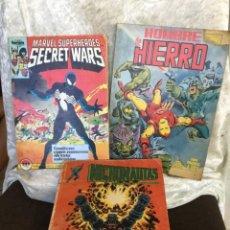 Cómics: COMIC MARVEL SECRET WARS MICRO AUTOS HOMBRE DE HIERRO. Lote 286944148