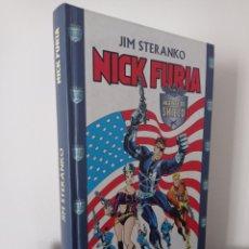Cómics: NICK FURIA - JIM STERANKO - AGENTE DE SHIELD - FORUM. Lote 286954388