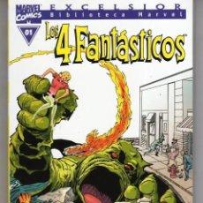 Cómics: BIBLIOTECA MARVEL LOS 4 FANTASTICOS COMPLETA 35 TOMOS - FORUM - ESTADO EXCELENTE - SUB03M. Lote 287013533