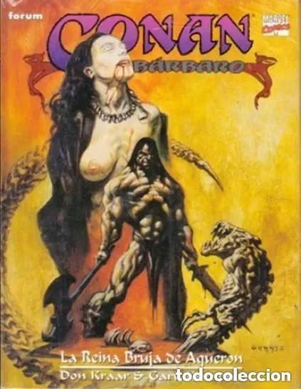 CONAN EL BARBARO - LA REINA BRUJA DE AQUERON - FORUM - IMPECABLE PRECINTADO - SUB03M (Tebeos y Comics - Forum - Conan)