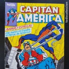 Cómics: TEBEO / CÓMIC MUY BIEN CAPITÁN AMÉRICA N⁰ 1 SÚPER HÉROES FORUM 1979-85. Lote 287078023