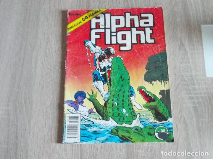 ALPHA FLIGHT VOL-1 Nº 38. 64 PAGÍNAS. FORUM (Tebeos y Comics - Forum - Alpha Flight)