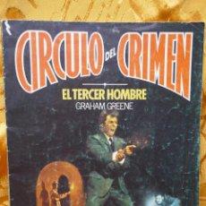 Cómics: CÍRCULO DEL CRIMEN Nº 2 EL TERCER HOMBRE GRAHAM GREENE EDICIONES FORUM. Lote 287157618