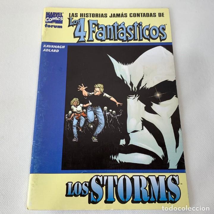 LAS HISTORIAS JAMÁS CONTADAS DE LOS 4 FANTÁSTICOS - MARVEL COMICS - FORUM - LOS STORMS (Tebeos y Comics - Forum - 4 Fantásticos)