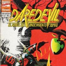 Cómics: DAREDEVIL EL ARBOL DEL CONOCIMIENTO Nº 1 - FORUM - VER DESCRIPCION - SUB03Q. Lote 287221313