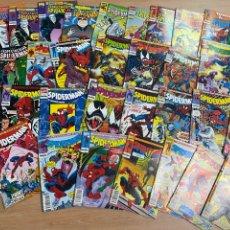 Cómics: LOTE DE 35 CÓMICS SPIDERMAN (N 280-314) MARVEL/ CÓMICS FORUM AÑOS 80. Lote 287239463