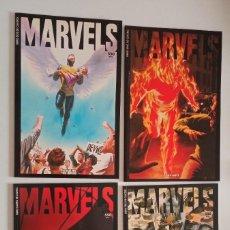 Cómics: MARVELS 1-4 EN PRESTIGIO. DE FORUM. Lote 287315583