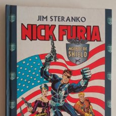 Comics: NICK FURIA DE STERANKO 1 Y 2. TAPA DURA. DE FORUM.. Lote 287316668