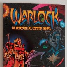 Cómics: WARLOCK, LA HERENCIA DEL CAPITÁN MARVEL. DE FORUM. Lote 287319158