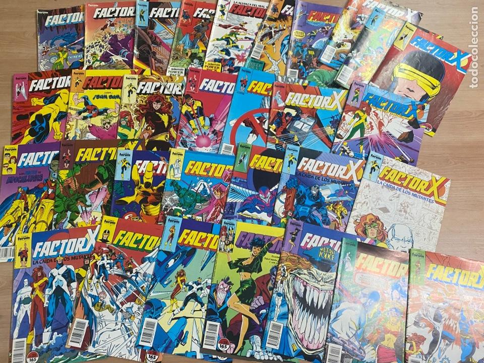 """LOTE DE 31 COMICS """"FACTOR X"""" N 1-31 CÓMICS FORUM AÑOS 80 (Tebeos y Comics - Forum - Factor X)"""