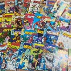 """Cómics: LOTE DE 31 COMICS """"FACTOR X"""" N 1-31 CÓMICS FORUM AÑOS 80. Lote 287325448"""