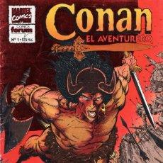 Cómics: CONAN EL AVENTURERO Nº 1 - FORUM - OFM15. Lote 287334638