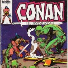 Cómics: CONAN EL BARBARO Nº 40 - FORUM - OFM15. Lote 287335503