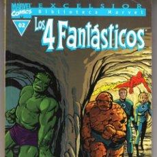 Cómics: BIBLIOTECA MARVEL 4 FANTASTICOS Nº 02 - FORUM - BUEN ESTADO - OFM15. Lote 287400813