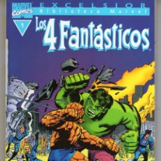 Cómics: BIBLIOTECA MARVEL 4 FANTASTICOS Nº 1 - FORUM - MUY BUEN ESTADO - OFM15. Lote 287400868