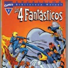 Cómics: BIBLIOTECA MARVEL 4 FANTASTICOS Nº 2 - FORUM - OFM15. Lote 287400988