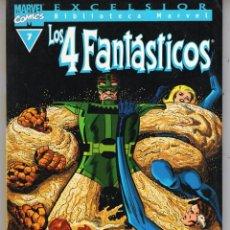 Cómics: BIBLIOTECA MARVEL 4 FANTASTICOS Nº 7 - FORUM - BUEN ESTADO - OFM15. Lote 287402918