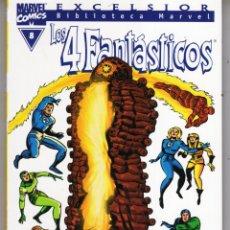 Comics : BIBLIOTECA MARVEL 4 FANTASTICOS Nº 8 - FORUM - MUY BUEN ESTADO - OFM15. Lote 287403173