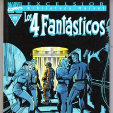 Comics : BIBLIOTECA MARVEL 4 FANTASTICOS Nº 11 - FORUM - VER DESCRIPCION - OFM15. Lote 287404048