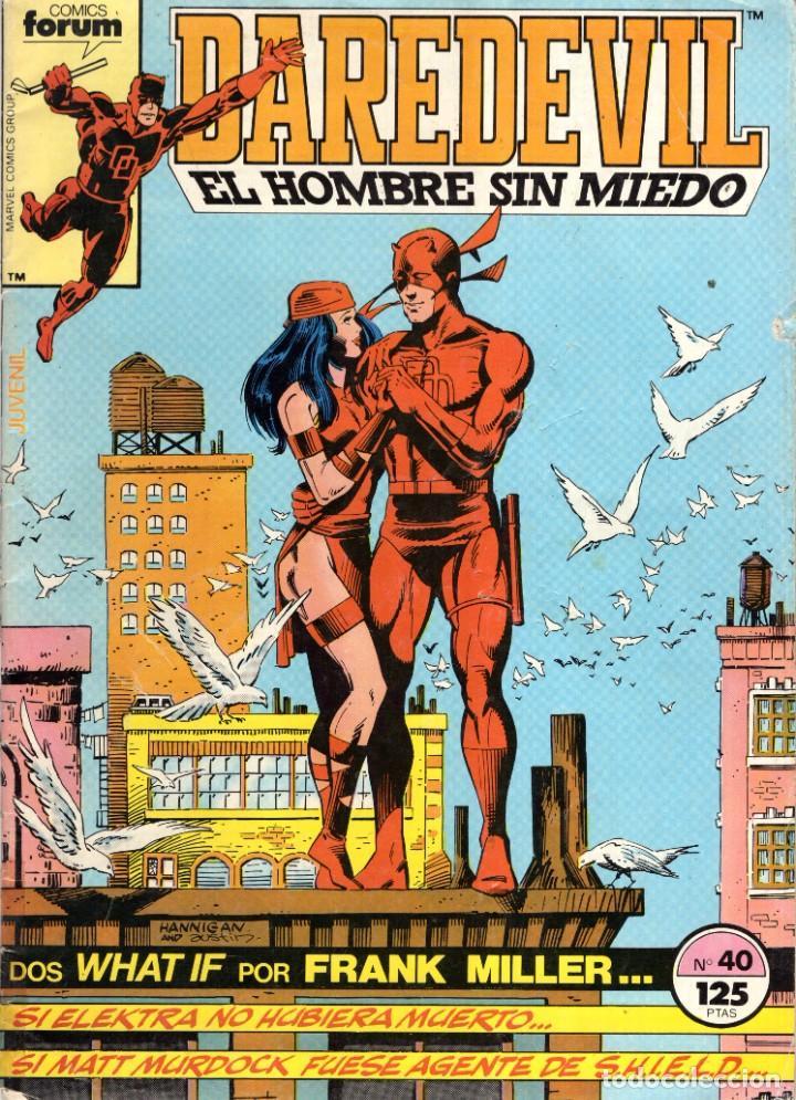 DAREDEVIL VOL. 1 Nº 40 - FORUM - OFM15 (Tebeos y Comics - Forum - Daredevil)