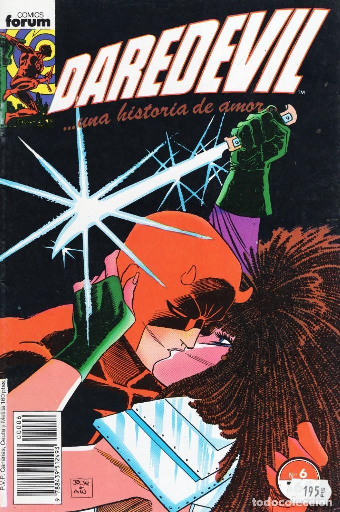 DAREDEVIL VOL. 2 Nº 6 - FORUM - BUEN ESTADO - OFM15 (Tebeos y Comics - Forum - Daredevil)