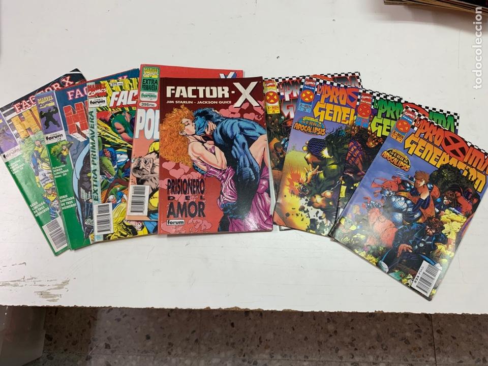 LOTE DE 10 EJEMPLARES MARVEL CÓMICS. (LA PRÓXIMA GENERACIÓN Y HULK) AÑIS 90 (Tebeos y Comics - Forum - Factor X)