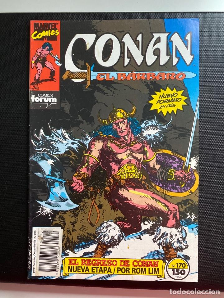 CONAN EL BÁRBARO 170 - FORUM (Tebeos y Comics - Forum - Conan)