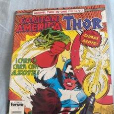 Cómics: CAPITÁN AMERICA/THOR NÚMERO 61. Lote 287457998