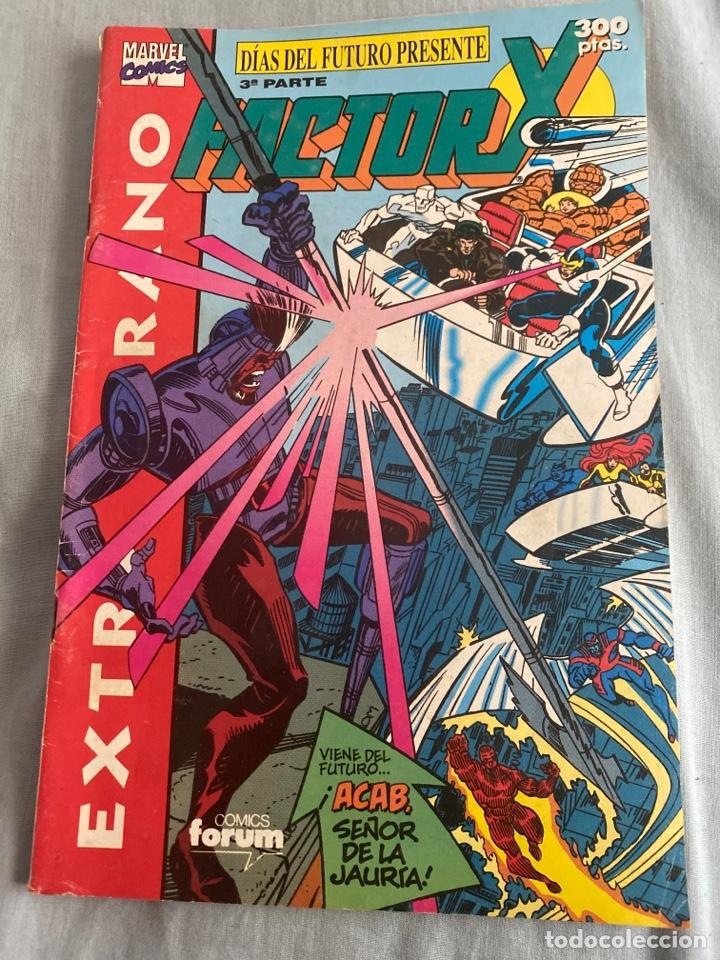 FACTOR X EXTRA VERANO-DÍAS DEL FUTURO PRESENTE (Tebeos y Comics - Forum - Factor X)