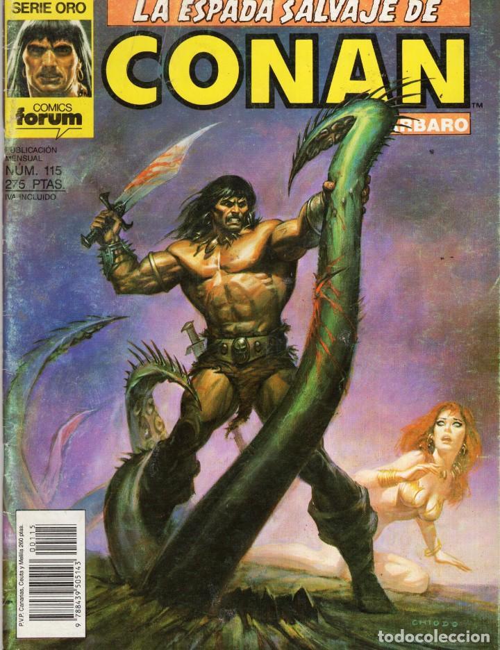 LA ESPADA SALVAJE DE CONAN VOL. 1 1ª EDICION Nº 115 - FORUM - OFM15 (Tebeos y Comics - Forum - Conan)