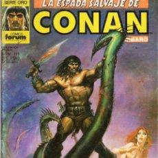 Cómics: LA ESPADA SALVAJE DE CONAN VOL. 1 1ª EDICION Nº 115 - FORUM - OFM15. Lote 287578523