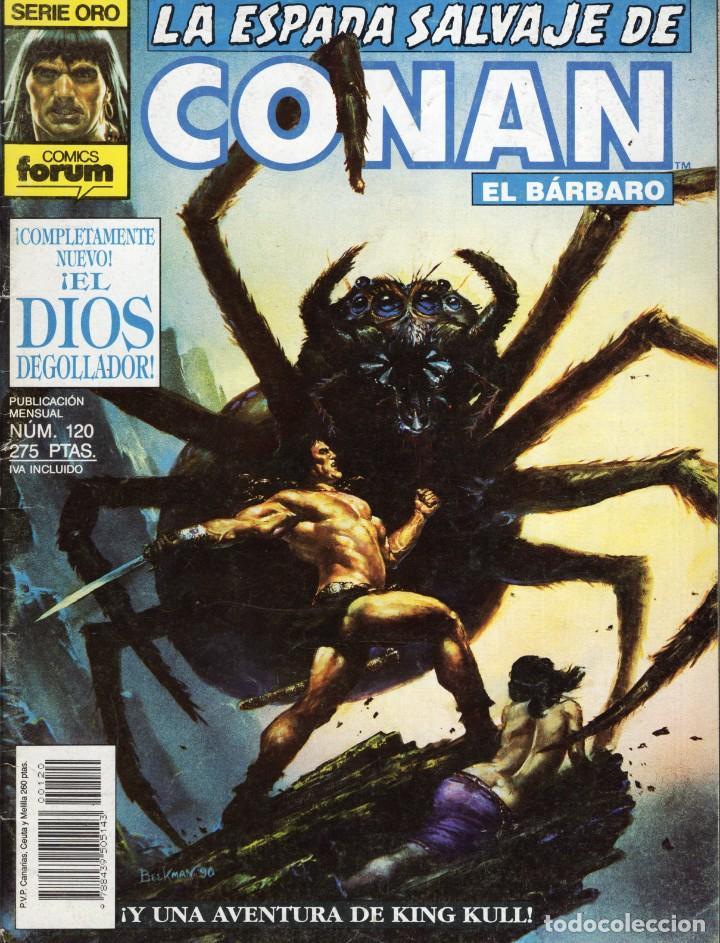 LA ESPADA SALVAJE DE CONAN VOL. 1 1ª EDICION Nº 120 - FORUM - OFM15 (Tebeos y Comics - Forum - Conan)