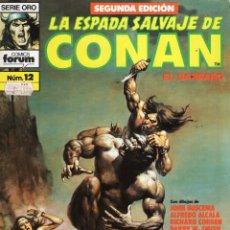 Cómics: LA ESPADA SALVAJE DE CONAN VOL. 1 SEGUNDA EDICION Nº 12 - FORUM - BUEN ESTADO - OFM15. Lote 287589143