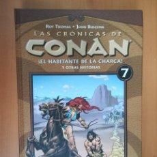 Cómics: LAS CRÓNICAS DE CONAN. TOMO 7. FORUM. Lote 287616303