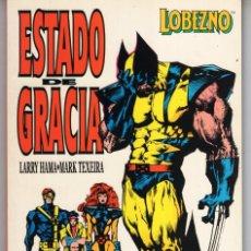 Cómics: LOBEZNO ESTADO DE GRACIA - FORUM - MUY BUEN ESTADO. Lote 287638378