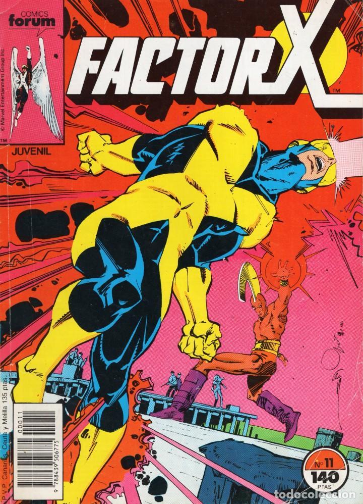 FACTOR X VOL. 1 Nº 11 - FORUM - VER DESCRIPCION - SUB03Q (Tebeos y Comics - Forum - Factor X)