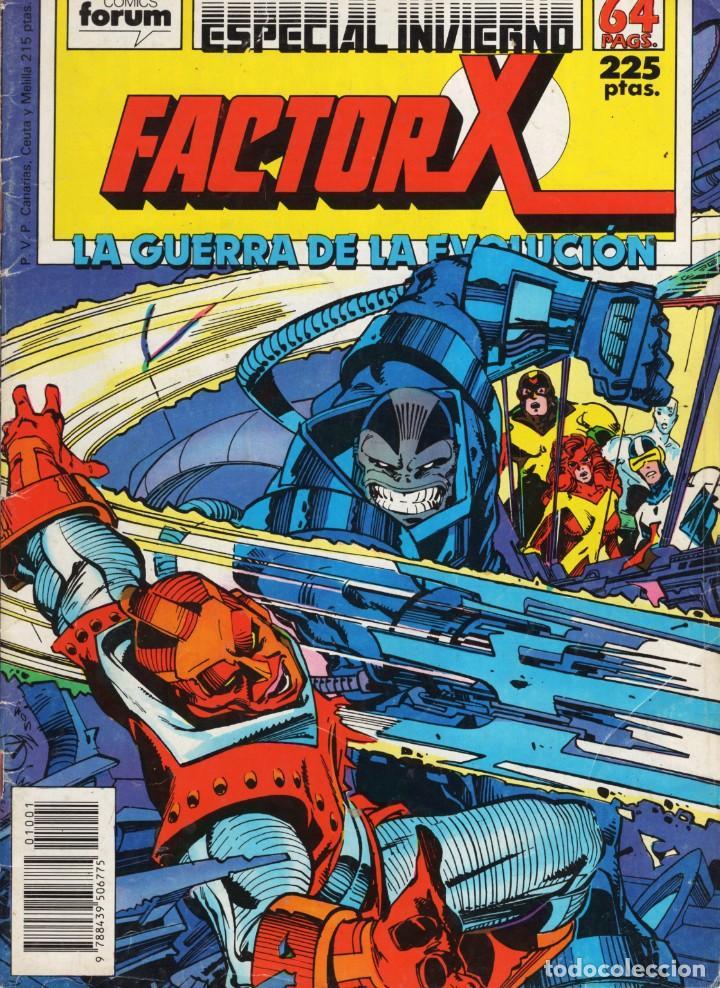 FACTOR X VOL. 1 ESPECIAL INVIERNO 1988 - FORUM - VER DESCRIPCION - SUB03Q (Tebeos y Comics - Forum - Factor X)