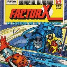 Cómics: FACTOR X VOL. 1 ESPECIAL INVIERNO 1988 - FORUM - VER DESCRIPCION - SUB03Q. Lote 287657973
