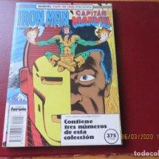 Cómics: IRON MAN RETAPADO 41-44. MUY BUEN ESTADO.. Lote 287660143