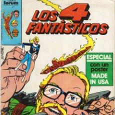 Comics : LOS 4 FANTASTICOS VOL. 1 Nº 21 - FORUM - VER DESCRIPCION - SUB03Q. Lote 287662638