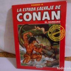 Cómics: LA ESPADA SALVAJE DE CONAN -EL BARBARO.TOMO 4-EDICION COLECCIONISTA. Lote 287669983