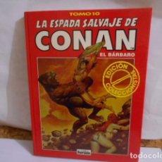 Comics: LA ESPADA SALVAJE DE CONAN -EL BARBARO.TOMO 10-EDICION COLECCIONISTA. Lote 287670233
